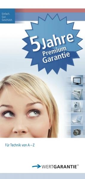 5 Jahre Premium Garantie, bis 3000 €