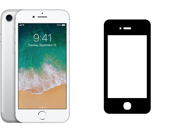 iPhone 7 Display-Reparatur (Original)