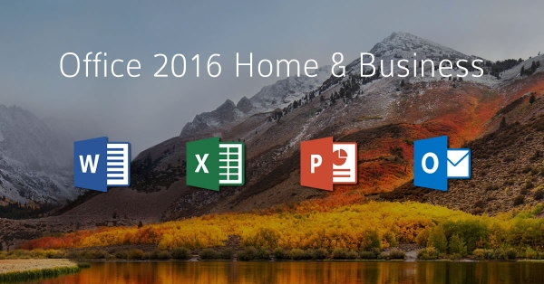 Microsoft Office Home & Business 2016, Mac, ESD