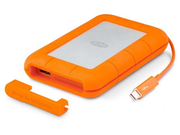 "LaCie 2,5"" Rugged Thunderbolt / USB 3.0, 1TB, externe Festplatte"