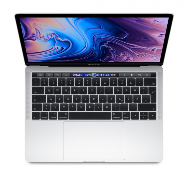"MacBook Pro 13"" Retina, Touch Bar, 512 GB SSD, 3 Jahre Garantie"