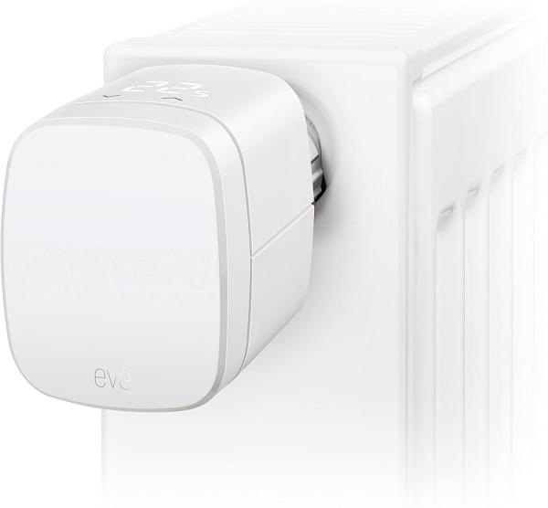 Eve Thermo - Smartes Heizkörperthermostat mit LED-Display (Apple HomeKit)