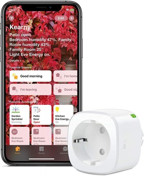 Eve Energy - Smarte schaltbare Steckdose (Apple Homekit)