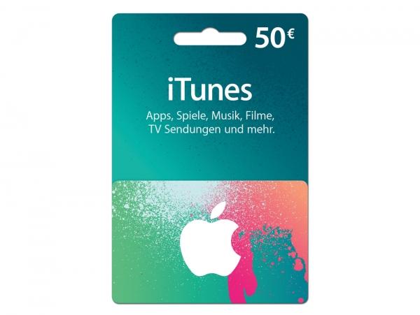 iTunes Karte 50 €
