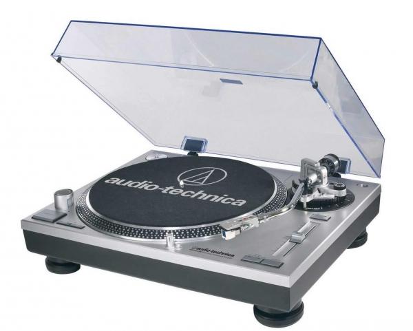 Audio-Technica AT-LP120-USB Plattenspieler, Silber - Gebrauchtware