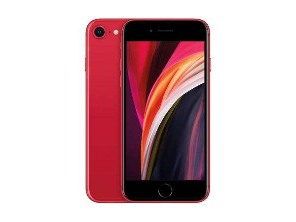 iPhone SE, 128 GB, rot