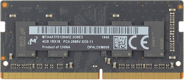 4GB DDR4 SO-DIMM PC3-21333 2666Mhz, neu, für Mac mini / iMac