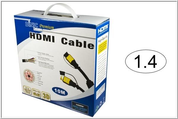 DINIC Premium HDMI 1.4 Kabel 10m