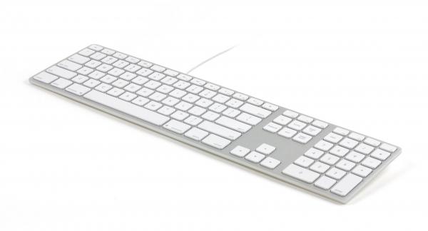 Matias USB Keyboard mit Ziffernblock, für iMac, Austausch für das Magic Keyboard
