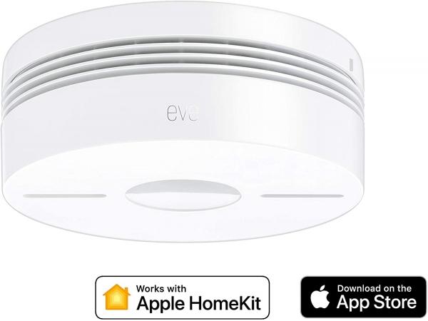 Eve Smoke – Smarter Rauch- & Hitze Dualwarnmelder (Apple HomeKit)