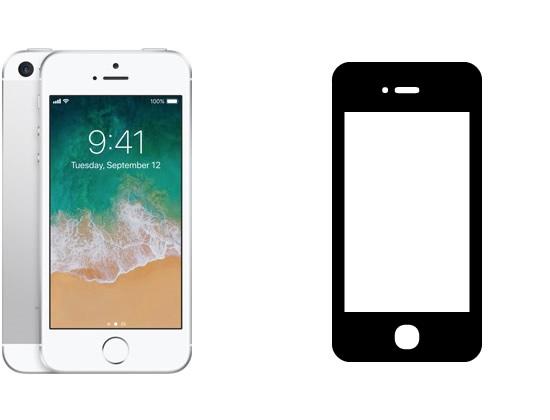 iPhone 5s/SE Display-Reparatur (Original)