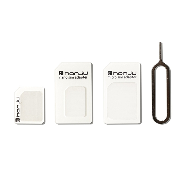 Honju Nano-SIM Adapter Kit, 3-Pack