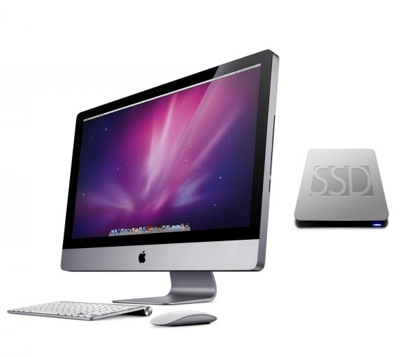 """iMac SSD-Upgrade für 21,5"""" und 27"""" Late 2009 bis Late 2011"""