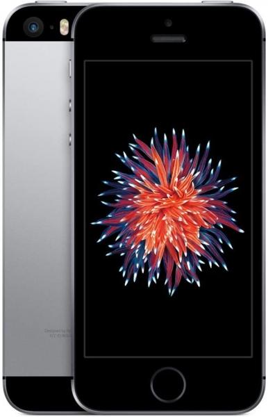 iPhone SE, 64 GB, schwarz - Gebrauchtware