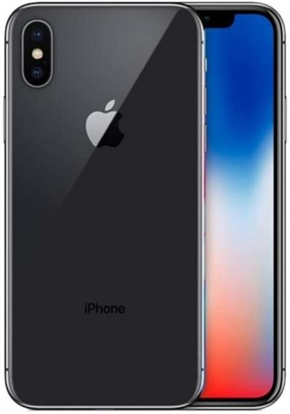 iPhone X, 256 GB, space grau - Gebrauchtware