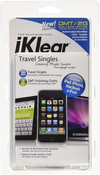 iKlear Travel Singles Reinigungstücher, 20er Pack