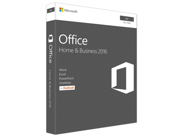 Microsoft Office Home & Business 2016, Mac, ESD