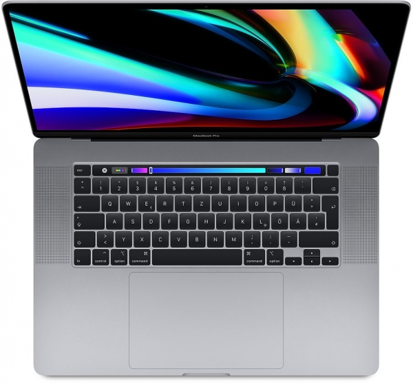 "MacBook Pro 16"" Retina, Touch Bar, 1 TB SSD, 32GB RAM, 5500M 8GB, 3 Jahre Garantie"