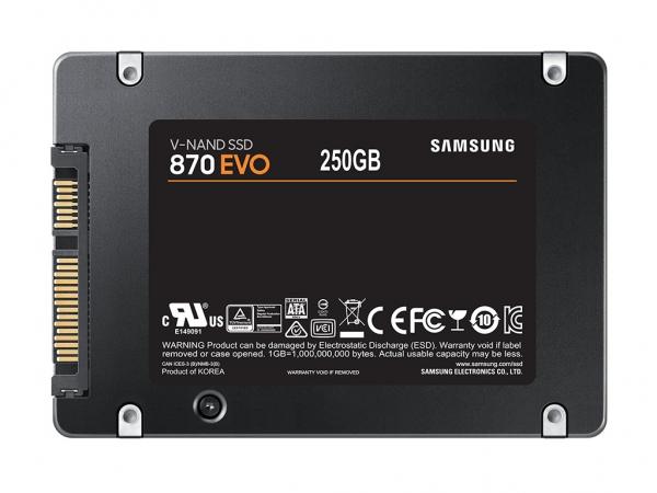 "Samsung EVO 870 2,5"" SSD"