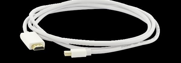Mini DisplayPort auf HDMI Kabel 1,8 m, weiß